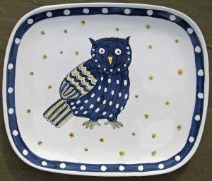 owl platter