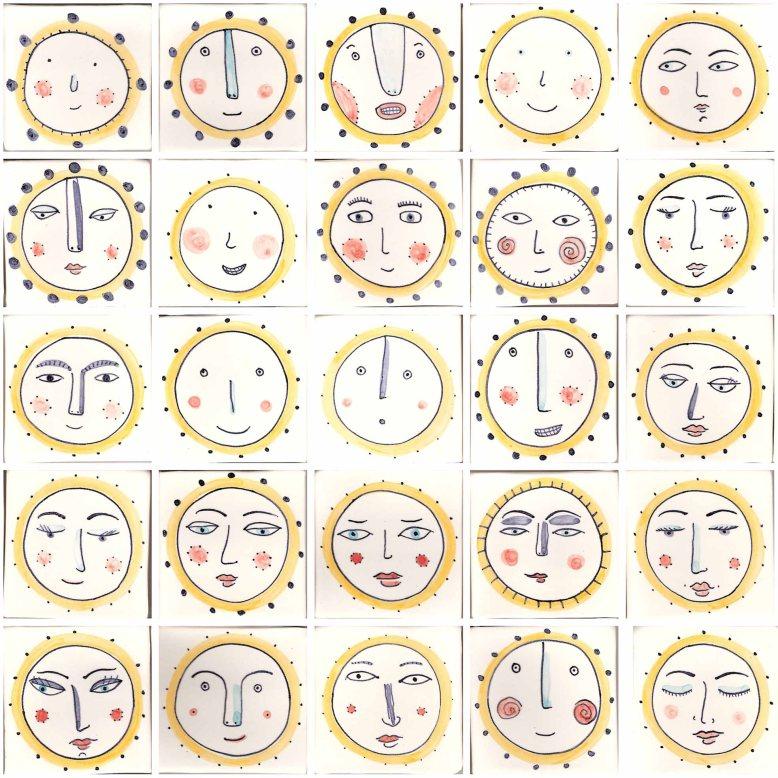 Face tiles