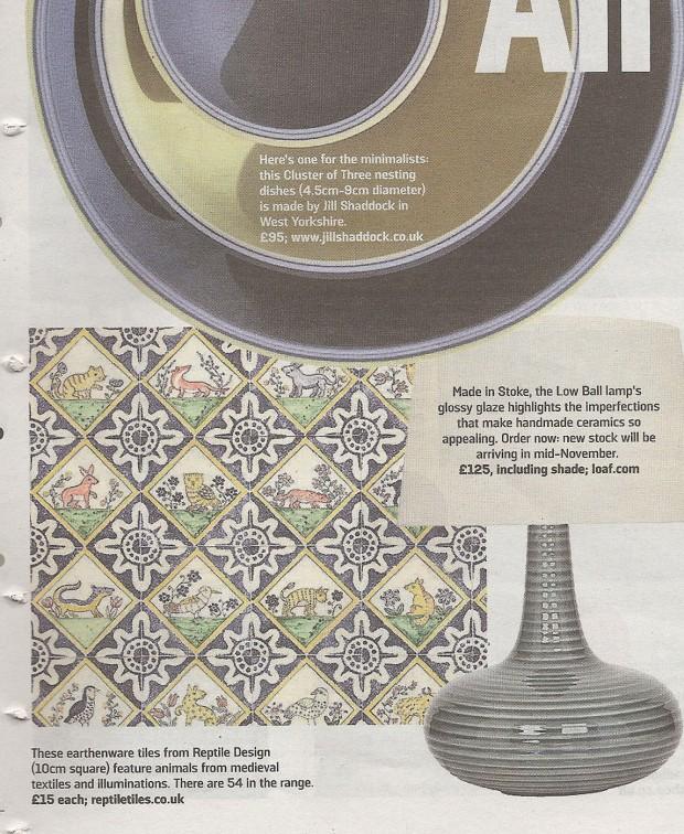 Medieval Animal tiles