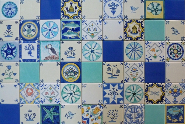 Patchwork of tiles