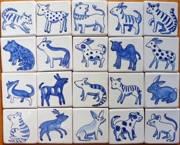 small animal tiles