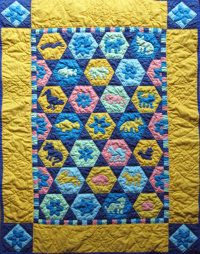 Animal Magic quilt
