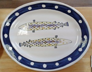 Large fishy platter 2