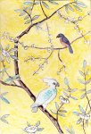 Chinoiserie tile