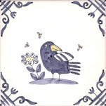 Delft Birds & Bees 1