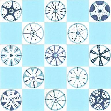 Diatoms & turquoise