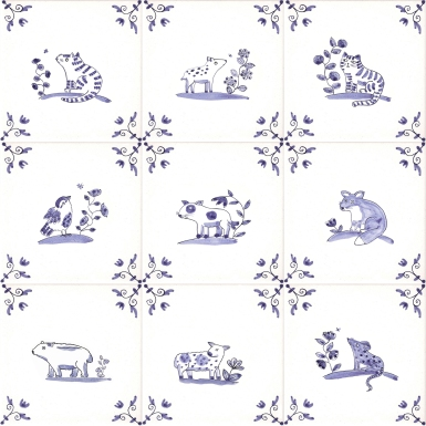 New Delft Animals
