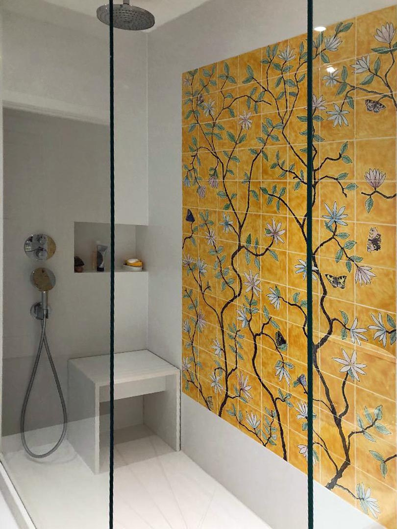 Chinoiserie shower 1