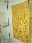 Chinoiserie shower