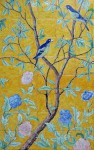Chinoiserie with parrots