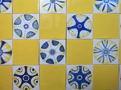 Yellow Diatom tiles