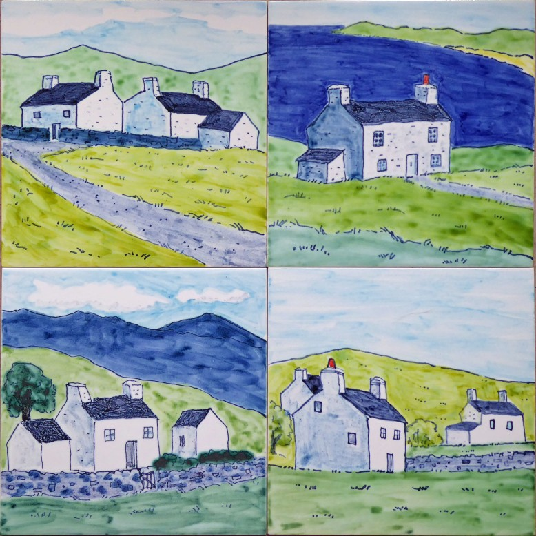 Welsh cottage tiles