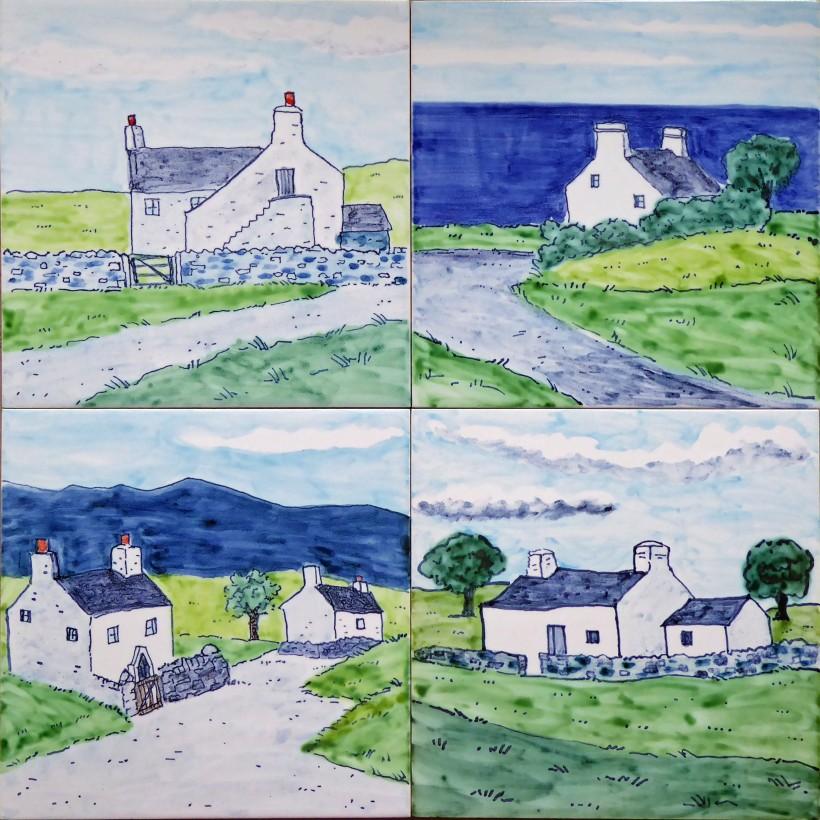 Welsh cottage tiles