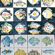 Small fish tiles