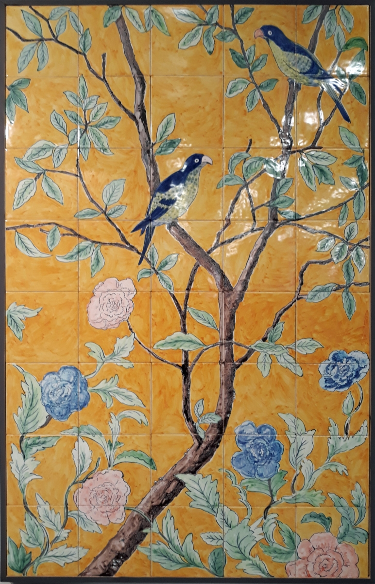 Chinoiserie tiles