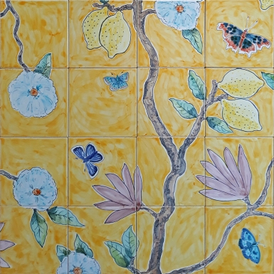sixteen tiles